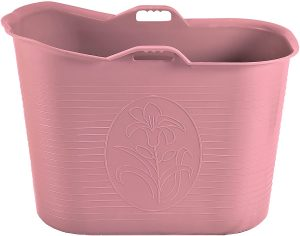 mobile Wanne rosa